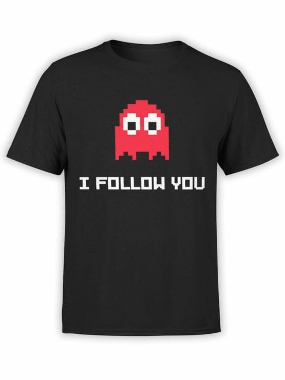 1118 Pac Man T Shirt Follow Front