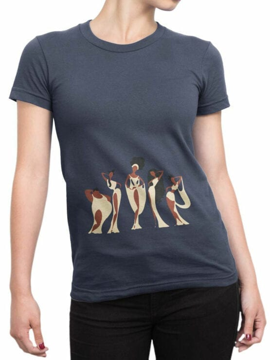 1122 Hercules T Shirt Muses Front Woman