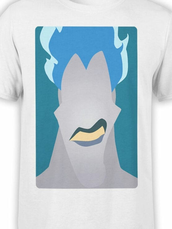 1126 Hercules T Shirt Stylized Hades Front Color
