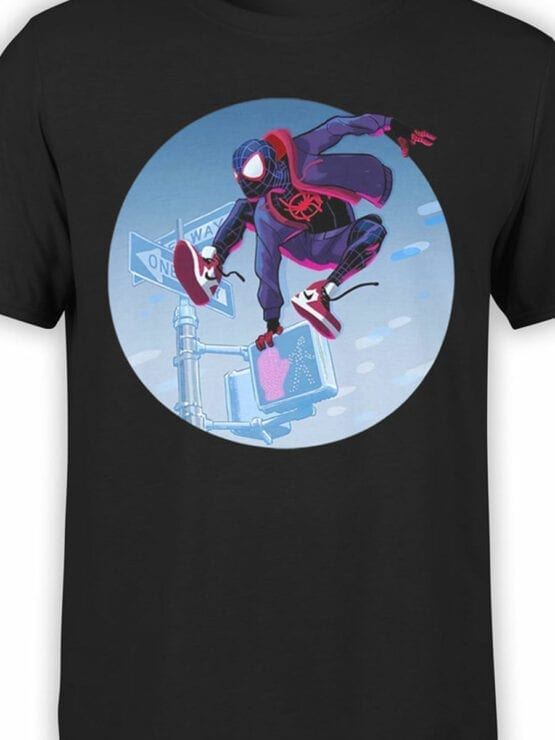 1132 Spider Man T Shirt Jump Front Color