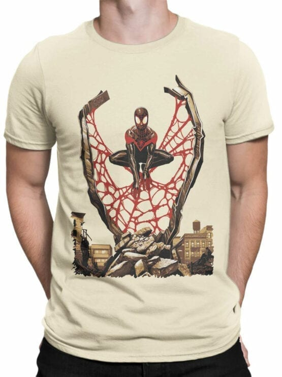 1135 Spider Man T Shirt City Front Man