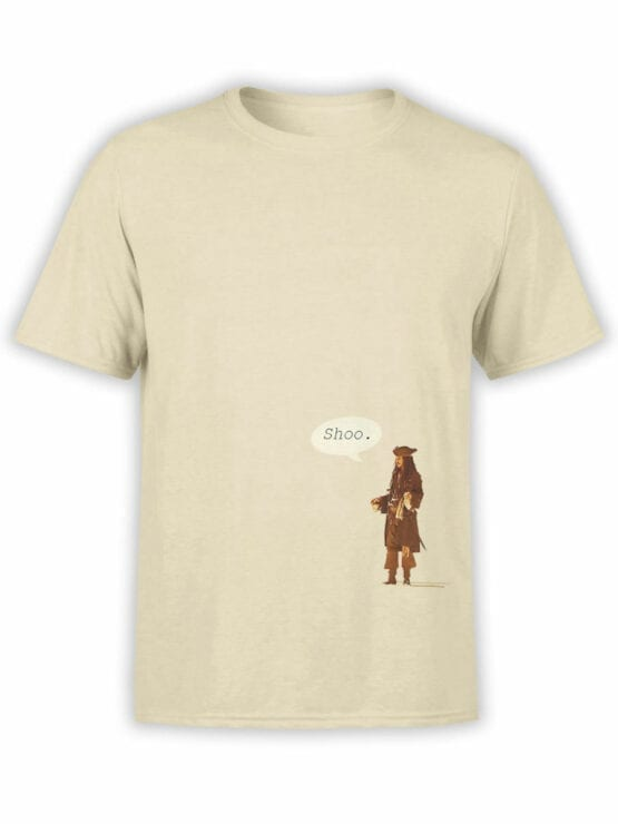 1155 Pirates of the Caribbean T Shirt Shoo Front