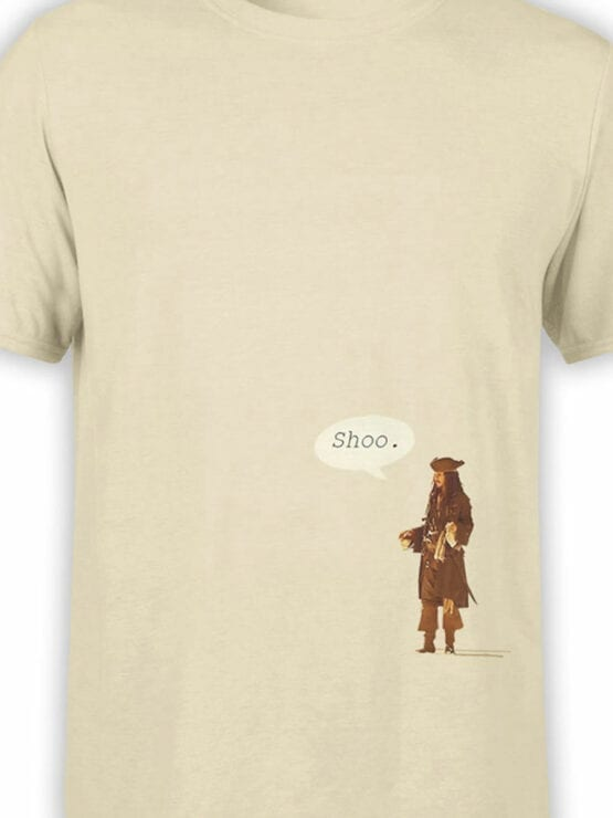 1155 Pirates of the Caribbean T Shirt Shoo Front Color