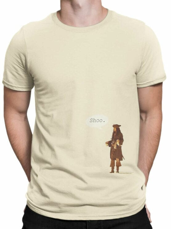 1155 Pirates of the Caribbean T Shirt Shoo Front Man