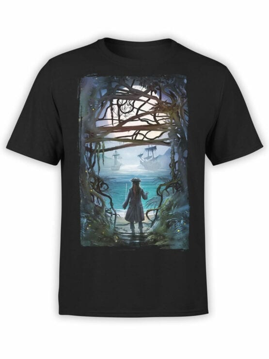 1157 Pirates of the Caribbean T Shirt Freedom Front
