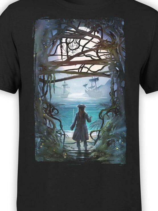 1157 Pirates of the Caribbean T Shirt Freedom Front Color