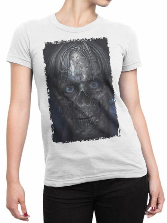 1159 Pirates of the Caribbean T Shirt Smile Front Woman