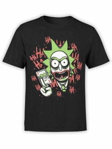 1236 Rick and Morty T Shirt Jocker Front