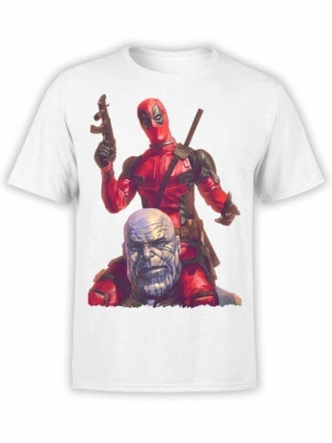 1318 Deadpool T Shirt Wassup Front
