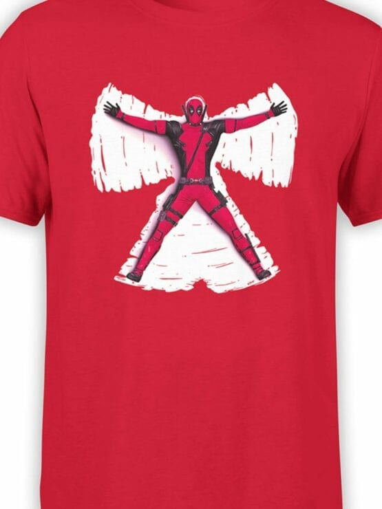 1320 Deadpool T Shirt Butterfly Front Color