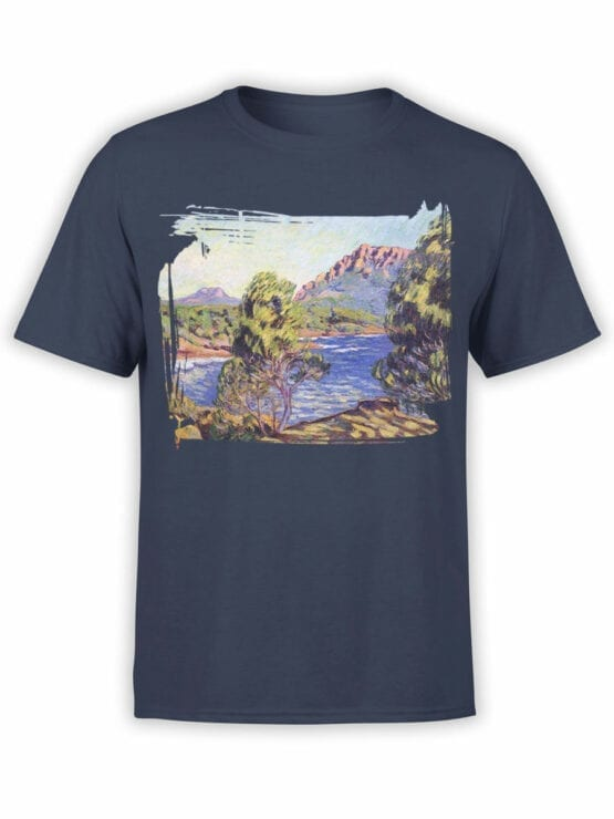 1341 Armand Guillaumin T Shirt Agay the Bay during the Mistral Front