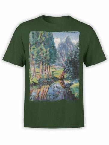 1343 Armand Guillaumin T Shirt Landscape at Breuillet Front