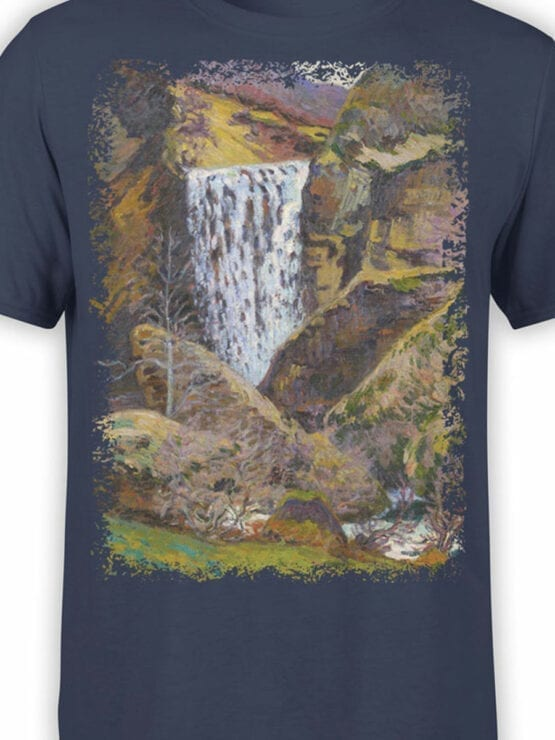 1346 Armand Guillaumin T Shirt Landscape of the Creuse Front Color