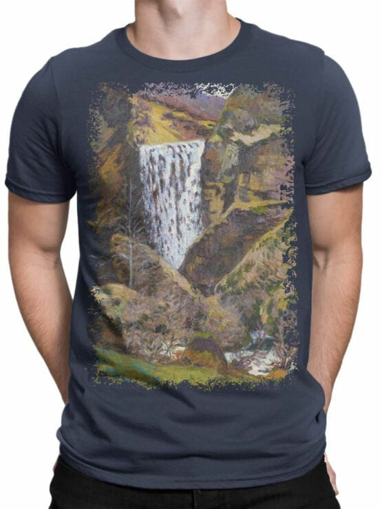 1346 Armand Guillaumin T Shirt Landscape of the Creuse Front Man