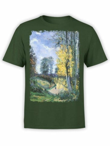 1348 Armand Guillaumin T Shirt Tall Trees in Autumn Front