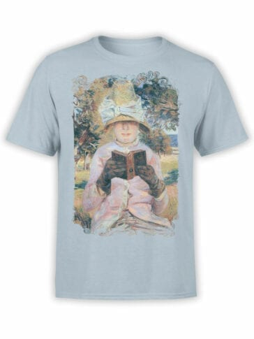 1349 Armand Guillaumin T Shirt Madame Guillaumin Reading Front