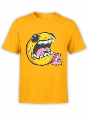 1397 Pac Man T Shirt Chase Front