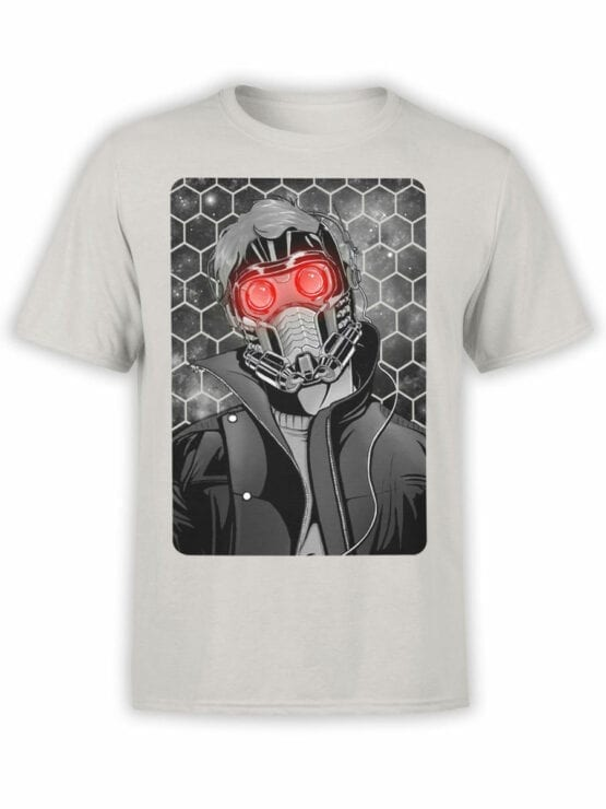 1414 Guardians of the Galaxy T Shirt Star Lord Front