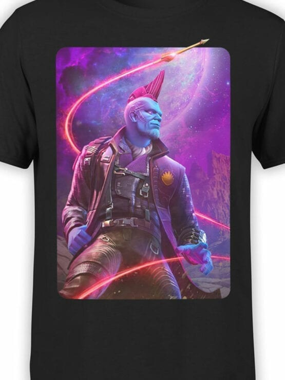 1415 Guardians of the Galaxy T Shirt Yondu Udonta Front Color