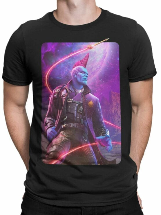 1415 Guardians of the Galaxy T Shirt Yondu Udonta Front Man