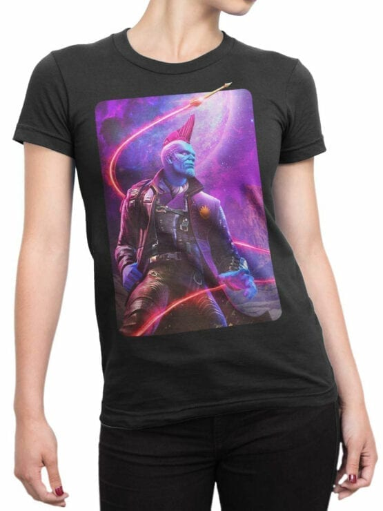 1415 Guardians of the Galaxy T Shirt Yondu Udonta Front Woman