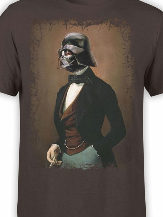 1432 Star Wars T Shirt Lord Vader Front Color