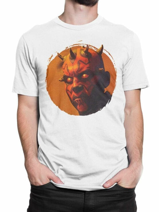 1433 Star Wars T Shirt Dark Side Front Man 2
