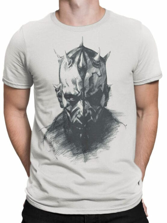 1438 Star Wars T Shirt Sith Front Man