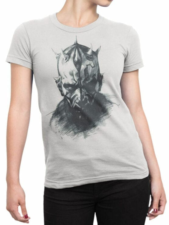 1438 Star Wars T Shirt Sith Front Woman