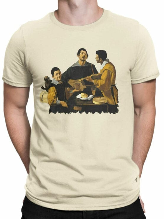 1448 Diego Velazquez T Shirt The Three Musicians Front Man