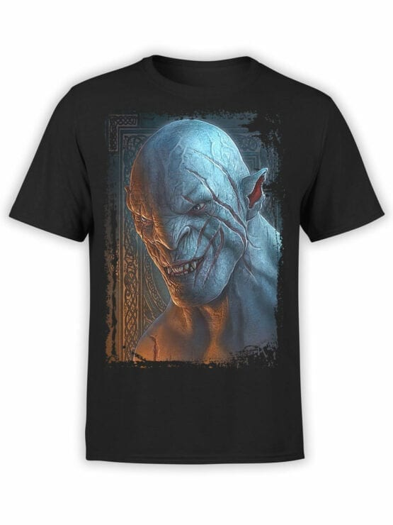 1488 The Lord of the Rings T Shirt Azog Front
