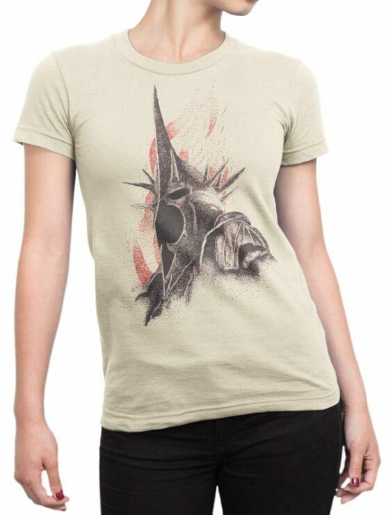 1490 The Lord of the Rings T Shirt Nazgul Front Woman