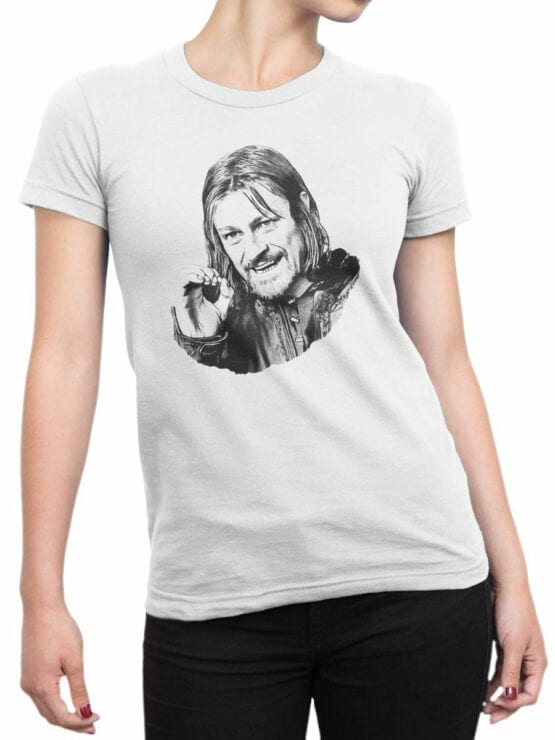 1495 The Lord of the Rings T Shirt You Cannot Simply Front Woman