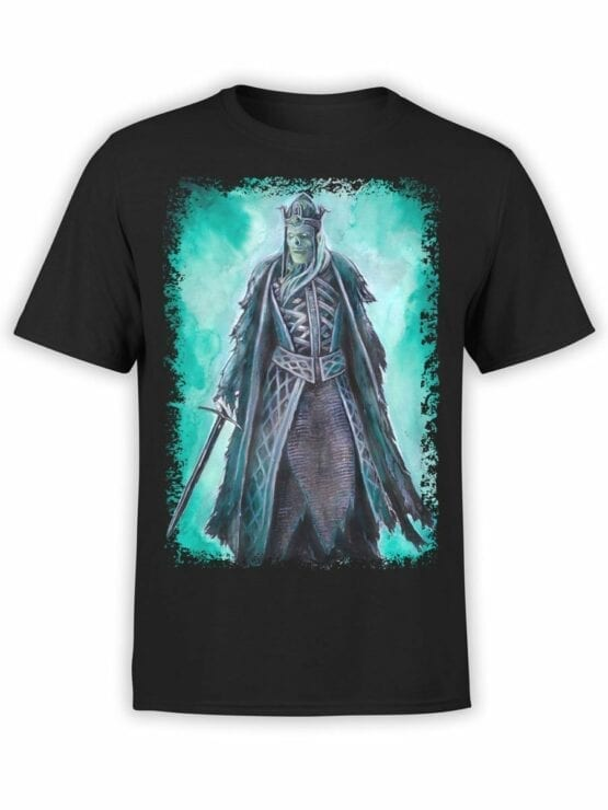 1497 The Lord of the Rings T Shirt King of the Dead Front