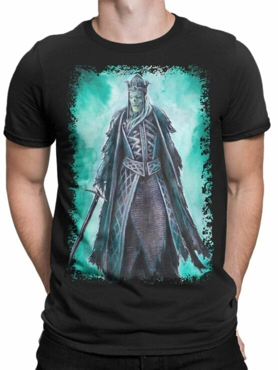 1497 The Lord of the Rings T Shirt King of the Dead Front Man
