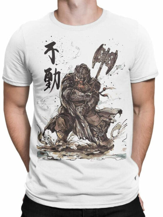1503 The Lord of the Rings T Shirt Gimli Front Man