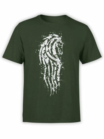 1504 The Lord of the Rings T Shirt Rohan Front