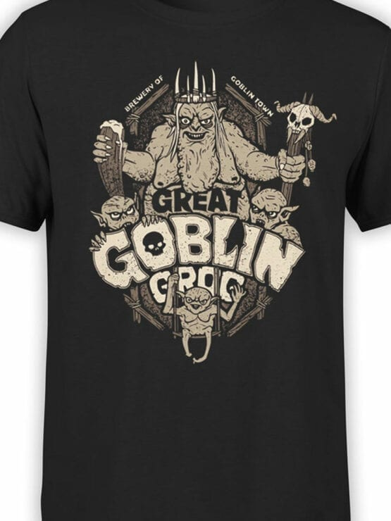 1508 The Lord of the Rings T Shirt Goblin Front Color