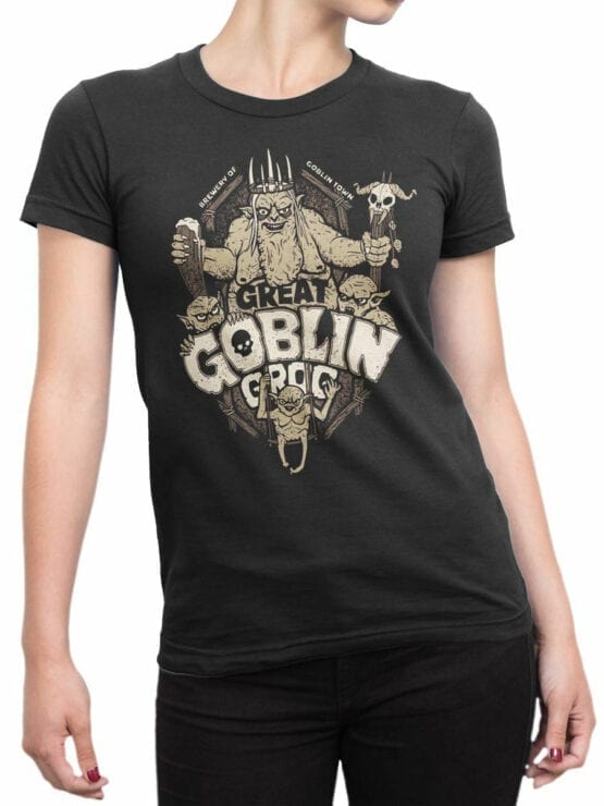 1508 The Lord of the Rings T Shirt Goblin Front Woman