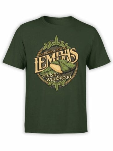 1510 The Lord of the Rings T Shirt Lembas Front