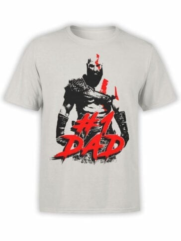 1516 God of War T Shirt 1 Dad Front