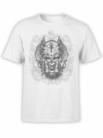 1521 God of War T Shirt Helmet Front