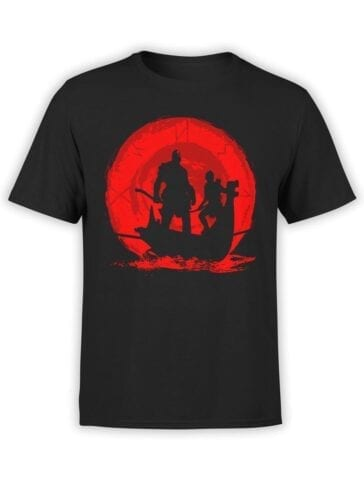1523 God of War T Shirt River Front