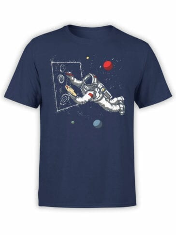 1538 NASA T Shirt Painter Front