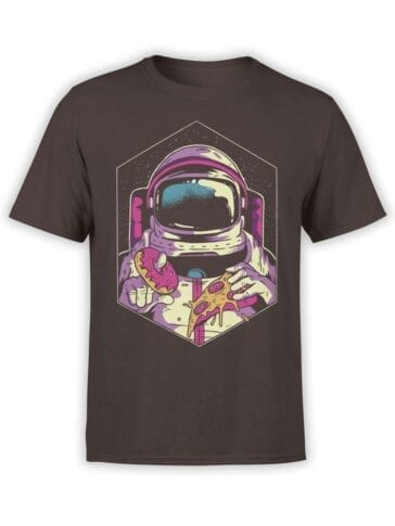 1548 NASA T Shirt Astro Food Front