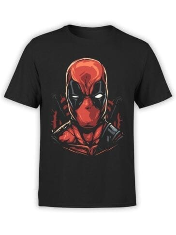 1662 Deadface T Shirt Deadpool T Shirt Front