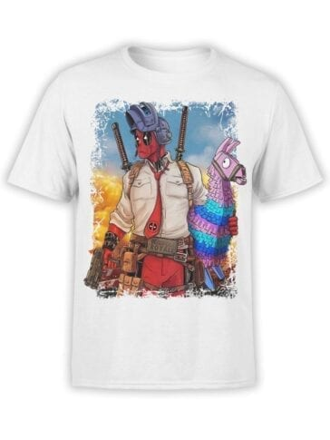 1666 Royale T Shirt Deadpool T Shirt Front