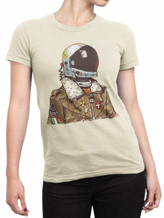 1706 Astro Tourist T Shirt Front Woman