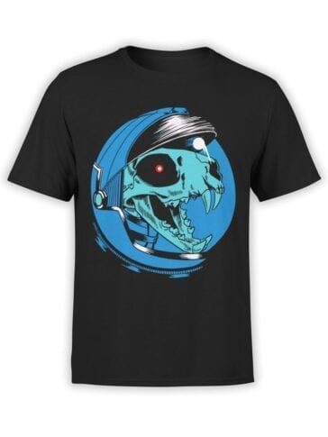 1707 Dino Astronaut T Shirt Front