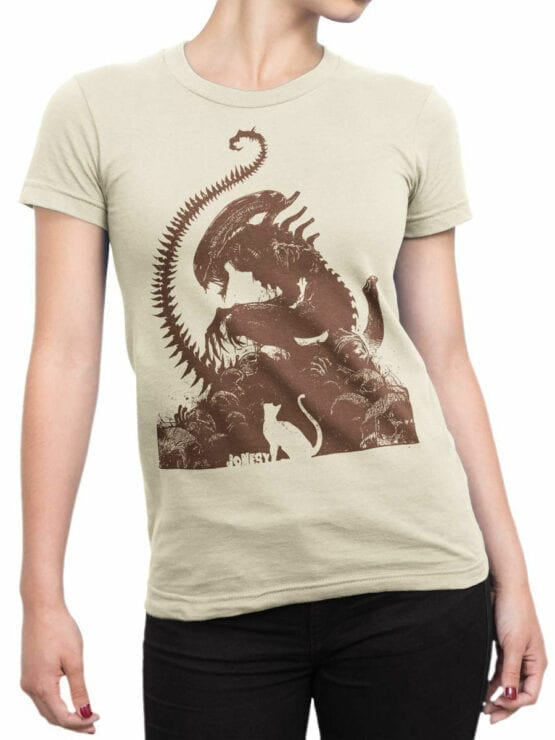 1749 Jonesy T Shirt Alien T Shirt Front Woman